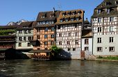 picture of petition  - picturesque old house in the district of La Petite France in Strasbourg - JPG