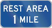 picture of mile  - United States MUTCD guide sign - JPG
