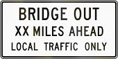 picture of xx  - United States traffic sign - JPG