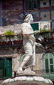 Statue Of Madonna Verona