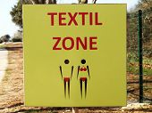 picture of naturist  - textile zone  - JPG