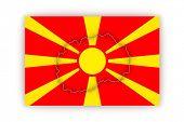 image of macedonia  - Map of Macedonia - JPG
