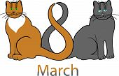 image of laughable  - The illustration of 8 March - JPG