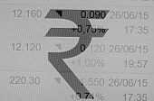 stock photo of indian currency  - Indian rupee sign - JPG