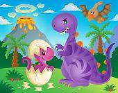 foto of dinosaur-eggs  - Dinosaur theme image 4  - JPG