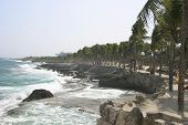 Tropical Coastline poster