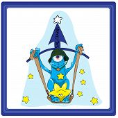 stock photo of pisces horoscope icon  - Sagittarius  - JPG