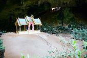 Golden Pavilion In Thailand