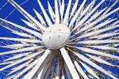 Постер, плакат: Centre of the Echo Wheel Liverpool