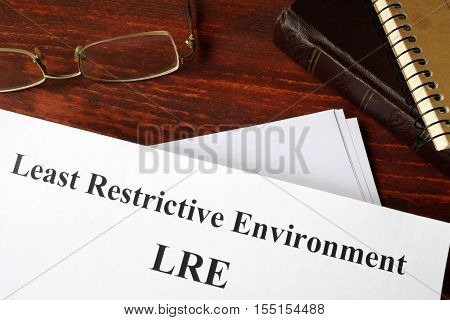 research papers on least restrictive environment The effects of inclusion on general education students by bruce pawlowicz a research paper  the least restrictive environment.