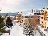 Beautiful Mount-tremblant Ski Resort Village