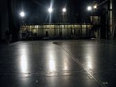 picture of stage theater  - view of being on a huge theatrical stage - JPG