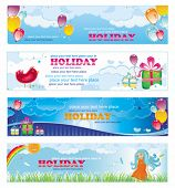 Holiday banners.  To see similar, please VISIT MY GALLERY.