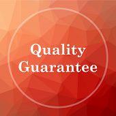 Quality Guarantee Icon poster