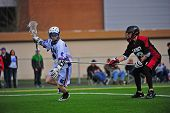 Boys Lacrosse long stick