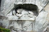 Melancholic Lion Monument 0005 - Lucerne Switzerland