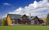 Modern Executive Log Home Ii
