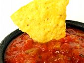 Salsa con Tortilla Chip 2