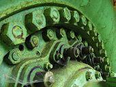 Old Water Turbine