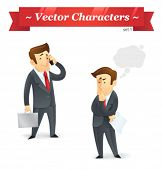 Vector characters. Business Set 1.
