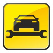 picture of car repair shop  - Auto repair shop sign - JPG