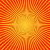 stock photo of starburst  - Vector Sun Sunburst Pattern - JPG