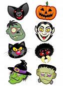 Personagens de Halloween