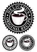 Original Recipe Emblem / Hot Drinks