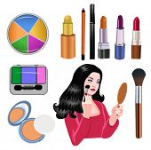 makeup objects