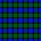 Black Watch Tartan Pattern. Scottish Cage. Scottish Checkered Background. Traditional Scottish Ornam poster