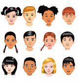 children of different races