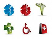 stock photo of scepter  - Medical 3d icons - JPG
