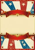 stock photo of patriot  - old patriotic vintage poster - JPG