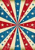 grunge patriotic poster. A new patriotic poster with a texture