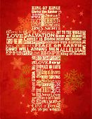 foto of christmas cards  - Christmas Cross - JPG