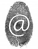 Raster Fingerprint with symbol