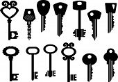 Set of vector keys