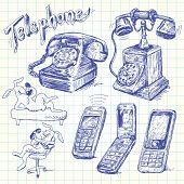 telephone doodles