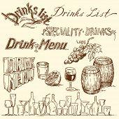 drink list