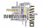 Textcloud: business