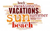 Tagcloud: summer