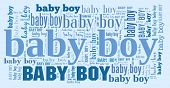 Tagcloud: baby boy