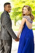 Young Teens Getting Ready For The Prom. poster