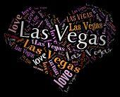 Wordcloud: love heart of city Las Vegas