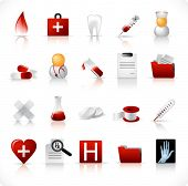 medical icon set 1