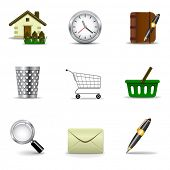 Web icons set 2