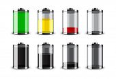 Batteries vector