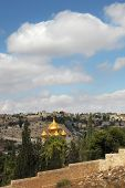 foto of church mary magdalene  - Christian Quarter in Jerusalem - JPG