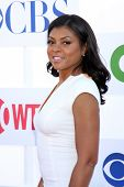 LOS ANGELES - JUL 29:  Taraji P Henson arrives at the CBS, CW, and Showtime 2012 Summer TCA party at