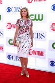 LOS ANGELES - JUL 29:  Christine Baranski arrives at the CBS, CW, and Showtime 2012 Summer TCA party
